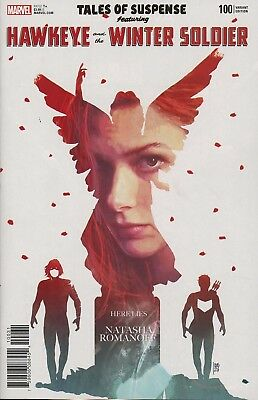 Tales Of Suspense #100  Andrea Sorrentino 1 in 25 Variant Cover Hawkeye