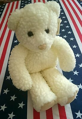 Baby Gund Suds Bear Rattle Stuffed Plush Animal Toy - New W/ Tag - Vintage-Gift