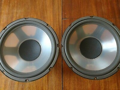 """12"""" INFINITY 490602 POLY WOOFER PAIR // 5000, Quantum, IRS & others // Refoamed"""
