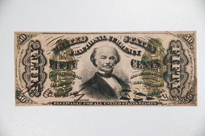 1863 50 Cent Fractional Currency Fr# 1324 Item#J1793