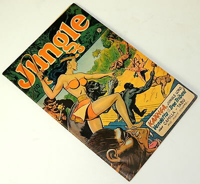 Jungle Comics #92 Features KA'A'NGA Jungle Lord Looks VF+ Grade F+ 6.5