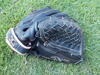 "MIZUNO GPL1205 PROSPECT FINCH 12"" fastpitch softball  Glove R-H throw leather"