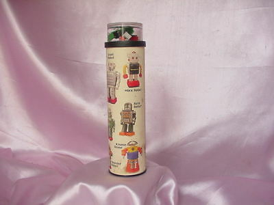Vintage Assorted Space Age Robot Figures Kaleidoscope Nr