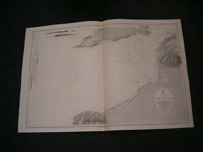 Vintage Admiralty Chart 1819 IRELAND - THE RIVER SHANNON Sheet 1 1913 edition