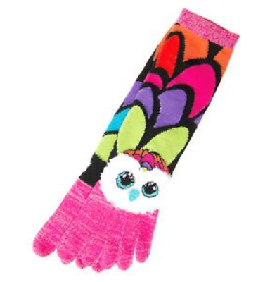 Ty Beanie Boos Girls Toe Socks Aria the Owl NWT ages 7-12