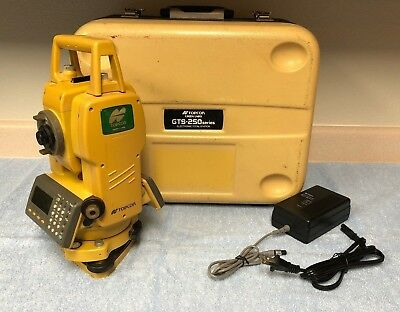 Topcon GTS-255 (GTS-250 Series) Green Label Total Station w/ Case