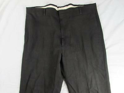Vtg 60s Drop Loop Cuffed Hollywood Dress Pants Slacks Measure 39x31 VLV Nice!