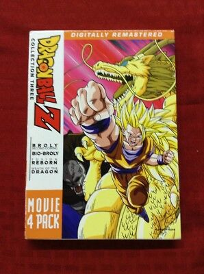 Dragon Ball Z Collection Three Movie 4 Pack