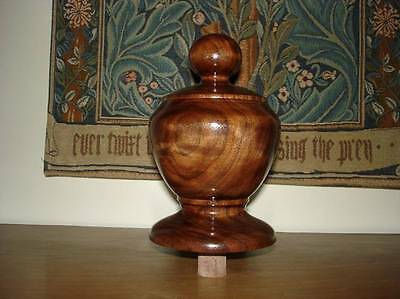 WOOD FINIAL UNFINISHED FOR NEWEL POST FINIAL OR CAP  Finial #7