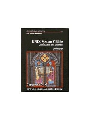 Unix Bible (The Waite Group) by Martin, Donald Paperback Book The Cheap Fast