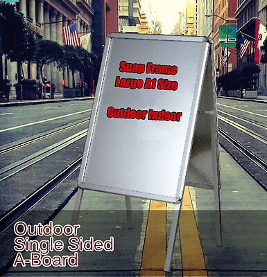 Aluminum Poster Snap Frame A-Board Single Sided,Round Corner,Sign Poster