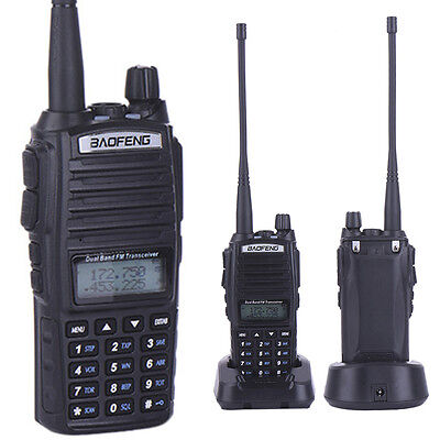 Baofeng UV-82 Walkie Talkie VHF UHF 136-174/400-480MHz Two-Way Ham Mic Radio Wu