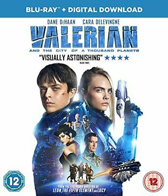 Valerian and the City of A Thousand Planets [Blu-ray + UV] [2017] - DVD  DMVG