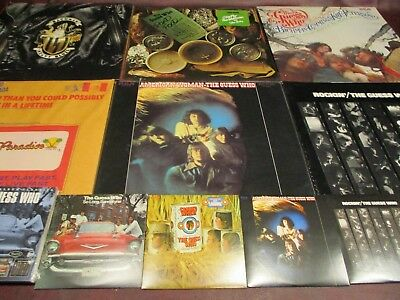 Guess Who Set American Woman Numbered + Rockin Road Food Bachman 6 Lp + 5 Cd Set