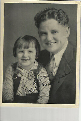 Asher Sizemore Little Jimmie 3 Photos + Clipping Pre Print Sigs - Grand Ole Opry
