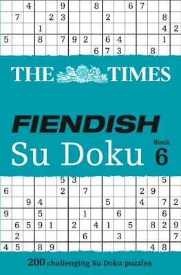 The Times Fiendish Su Doku Book 6 (Paperback), The Times Mind Gam. 9780007465187