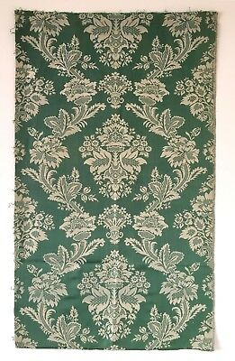 Beautiful Antique 18th C. French Silk Damask Jacquard  (8347)