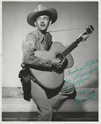 Bob Atcher Signed 8x10! - Grand Ole Opry