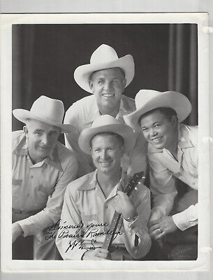 Prairie Ramblers 9 Photos + Signed 8x10s + Clippings - Grand Ole Opry