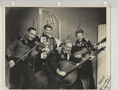 Sage Riders 6 Photos 2 8x10s Signed! - Grand Ole Opry