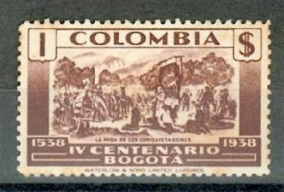 Colombia 1938 Michel Nr. 395 ** MNH 1 $ Bogota ce98