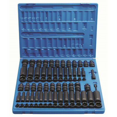Grey Pneumatic 3/8 in. Drive 81 pc. Complete Socket Set 1281 New