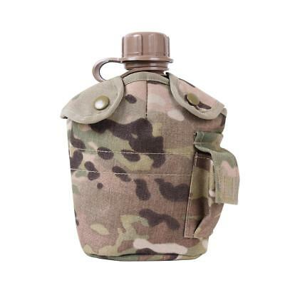 Rothco GI Style MOLLE 1 QT Canteen Cover, MultiCam