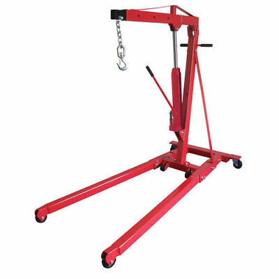 Sunex Tools 1.5 Ton Foldable Engine Crane with Rapid Rise 5218 NEW