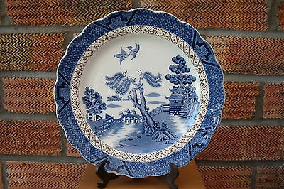 Booths Blue & White  Real Old Willow Side Plate 1944+  A8025.