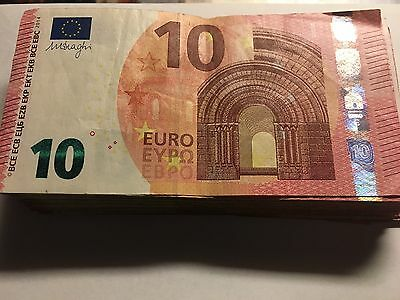 10 EURO banknote EUROPE PAPER BANK REAL MONEY