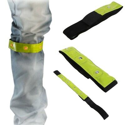 LED Light Cycling Arm Band Reflective Running Safety Outdoors Belt Wrist Straps