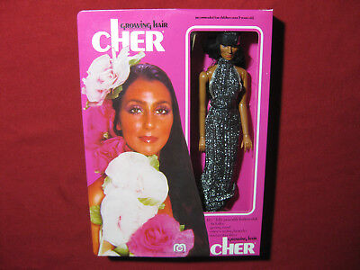 """1976 Mego Cher Growing Hair SEALED Vintage Doll Figure Boxed 12"""" Sonny MIB MISB"""