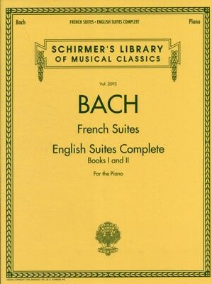 J.S. Bach: French Suites / English Suites Complete (Schirmer's Library of Music.