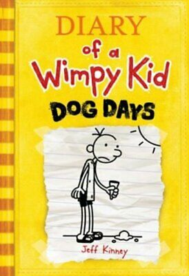 Diary of a Wimpy Kid # 4 - Dog Days by Kinney, Jeff Book The Cheap Fast Free