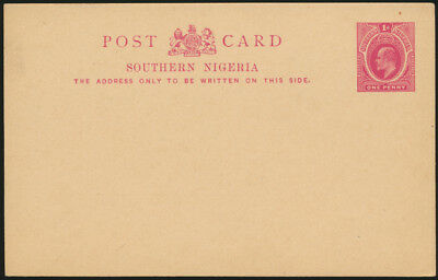 Africa Southern Nigeria Ganzsache P2 1 d. King Eduard postal stationary
