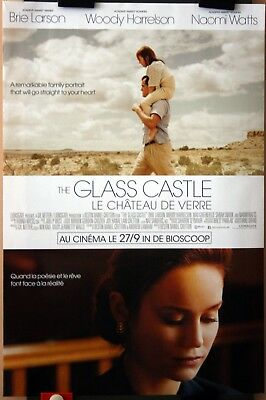Woody Harrelson : Brie Larson : The Glass Castle : POSTER