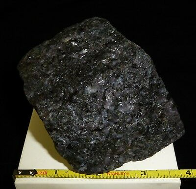 "DINO: Lg. ""MYSTIC MERLINITE"" INDIGO GABBRO 1 lb. 7.3oz. Lapidary/Display Grade A"