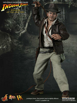"""Hot Toys Dx05 Indiana Jones Raiders Of The Lost Ark 12"""" 1/6 Action Figure New"""