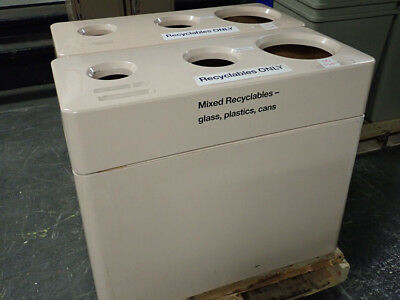3-Bin Recycling Containers