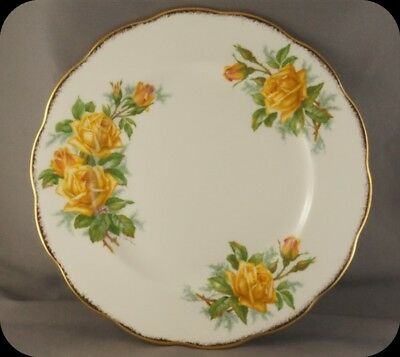 Royal Albert Yellow Tea Rose Salad Plate (8 available)