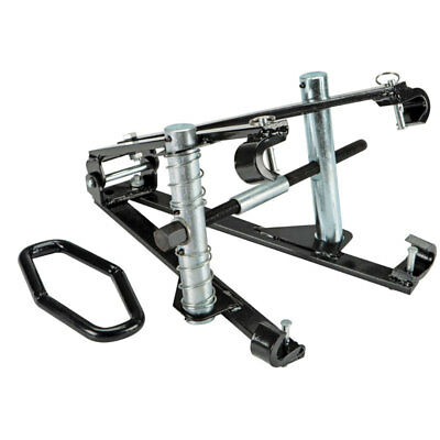 Single Action Strut Coil Spring Compressor Install Remove Replace Clamshell Tool