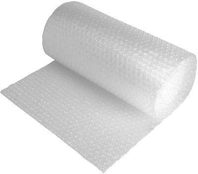 """3/16"""" 50 ft 12"""" Wide Small Bubble Cushioning Wrap Perforated 12"""" Bubble Roll"""