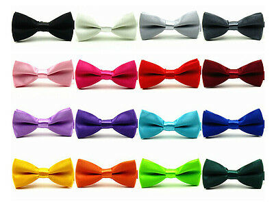 Baby Boy Kids Bow Tie Children Pre Tied Party Wedding Tuxedo Bowties Necktie