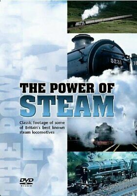 The Power Of Steam [DVD] - DVD  4QVG The Cheap Fast Free Post