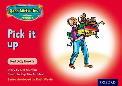 Read Write Inc. Phonics: Red Ditty Book 5 Pick It Up by Munton, Gill Paperback