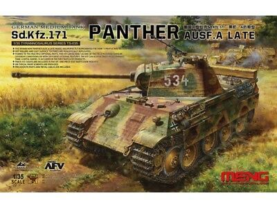 Meng-Model Ts-035 - 1/35 Wwii Sdkfz 171 Panther Ausf. A (Late) - Neu