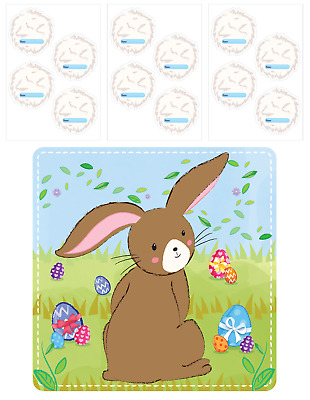 Easter Game Pin Stick The Tail On Bunny Rabbit Childrens Egg Hunt Prize E21 178