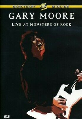 Gary Moore - Live At Monsters Of Rock [DVD] [2008] - Gary Moore CD S0VG The Fast