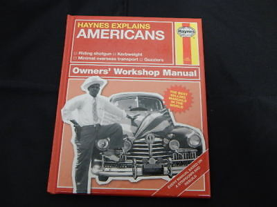 Haynes Explains The Americans Owners' Workshop Manual Book ~ BRAND NEW