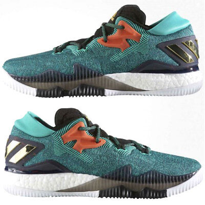 adidas Performance Mens Crazylight Boost Low Court Shoes rrp£95